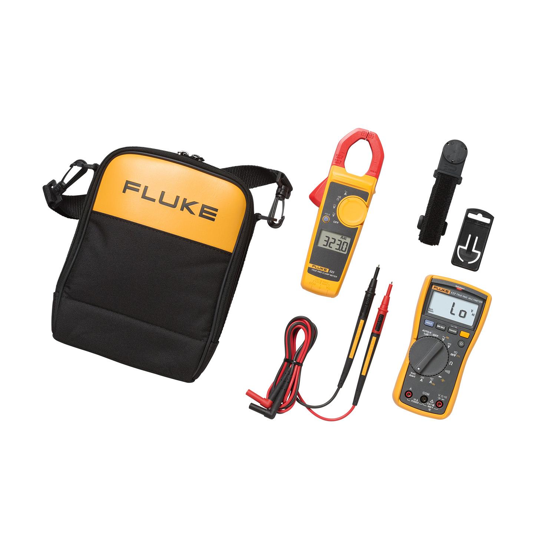 Fluke 117/323 Electricians Multimeter Combo Kit