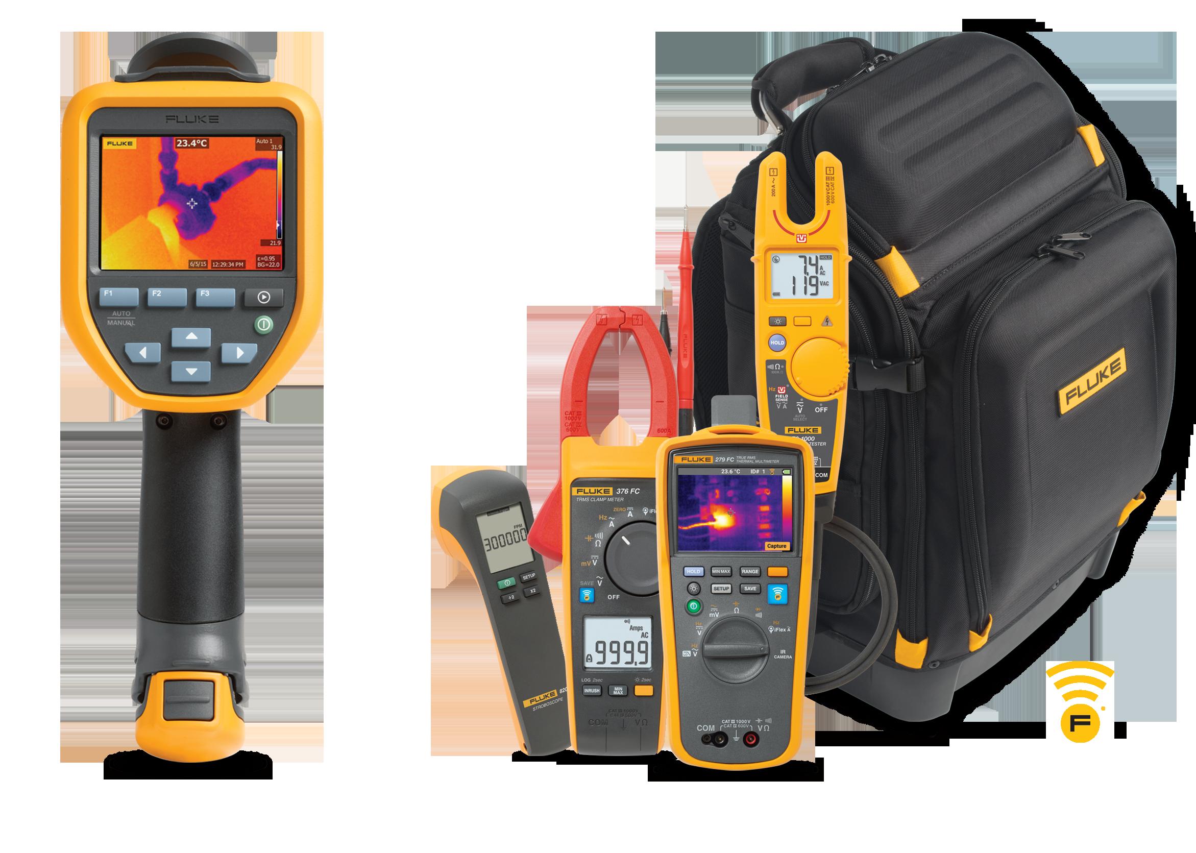 Fluke TiS45 Infrared Camera and bonus products
