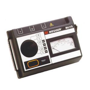 Megger MJ15 analog