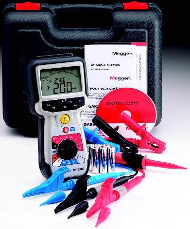MIT2500 Insulation and continuity tester