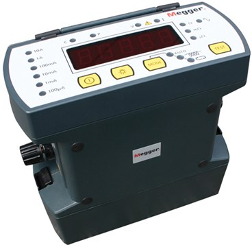 Megger DLRO10X + DH4-C Digital Low Resistance Ohmmeter, 10 A, with Memory  and Keypad
