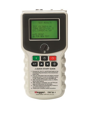 HAND-HELD TRANSFORMER TURNS RATIO TESTER