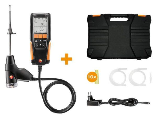 testo 310 - Residential combustion analyzer kit
