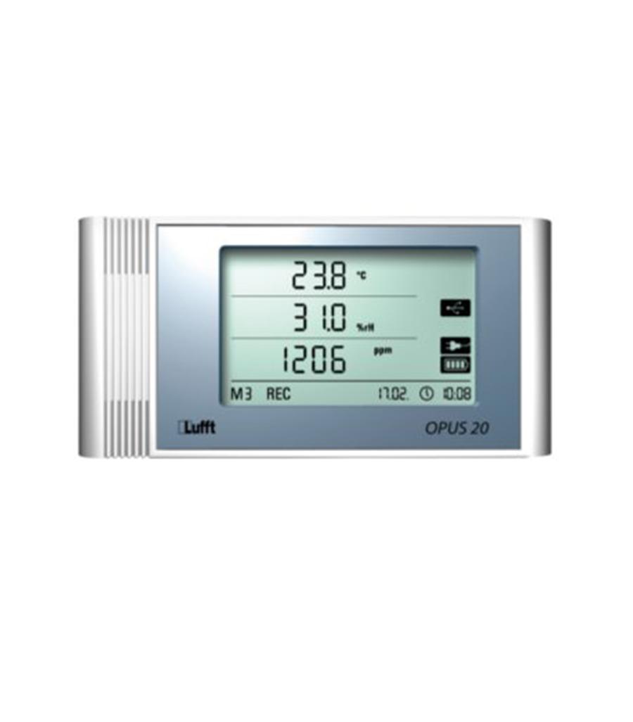 OPUS 20 CO2 internal sensors