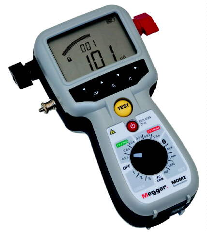 Megger BD-59090 MOM2 Microohmmeter with Kelvin Probes