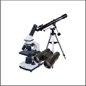 Binoculars, Microscopes, Telescope & More