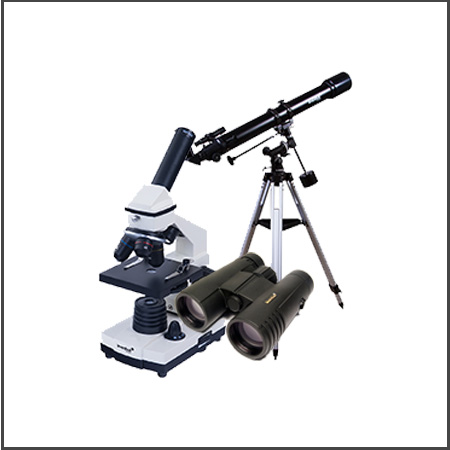 BINOCULARS, MICROSCOPES, TELESCOPE & MORE